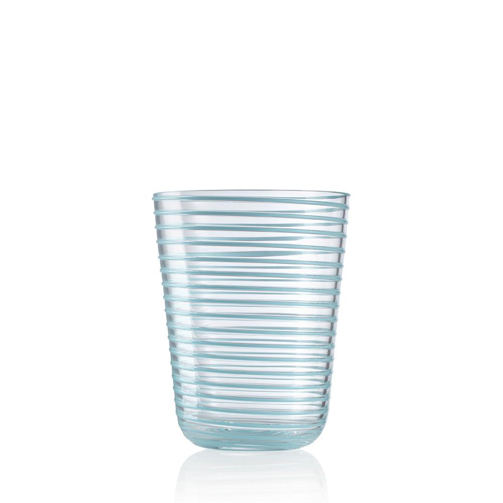 Bicchiere Bibita Twist Celeste