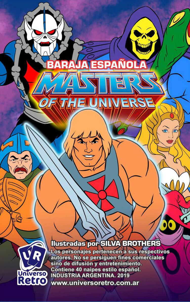 Cards: Mazzo spagnolo MASTERS OF THE UNIVERSE by Universo Retrò