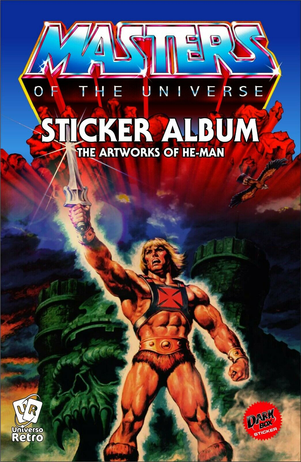 Stickers Album MASTERS OF THE UNIVERSE by Universo Retrò