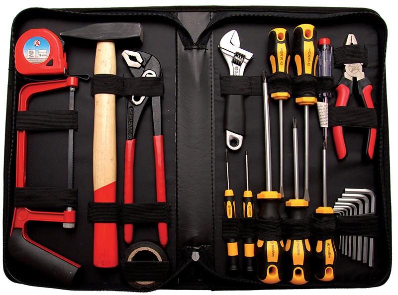 Kit di 23 utensili assortiti in custodia rigida BGS 2199