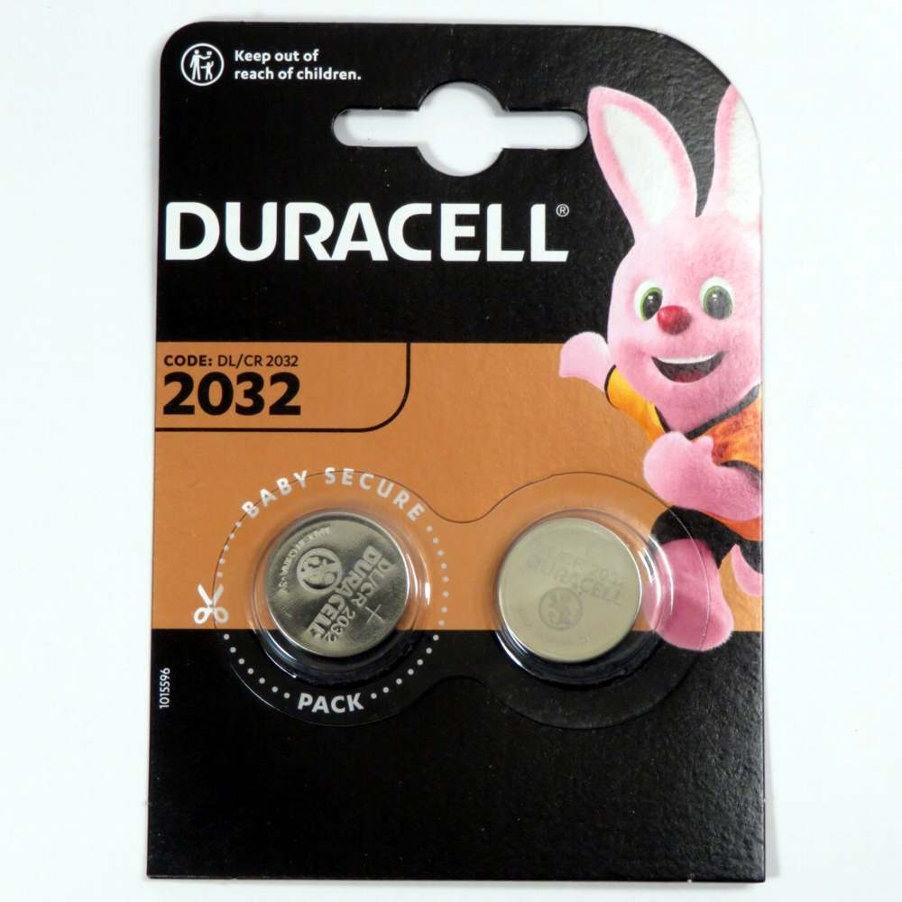 Pila a pastiglia 3v 2032 Duracell