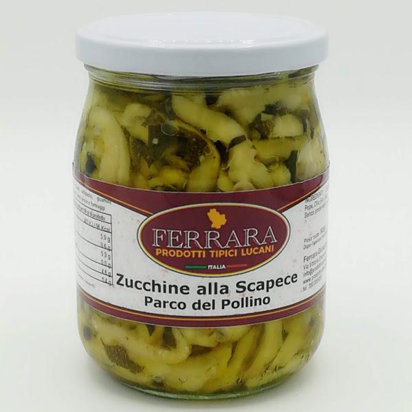 ZUCCHINE ALLA SCAPECE PARCO DEL POLLINO VASO DA GR 500