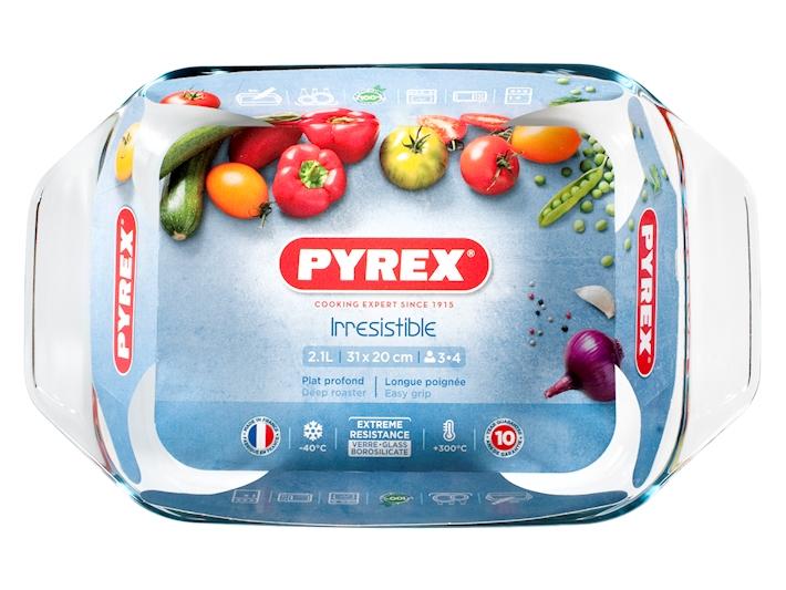 Pirofila forno 31x20 in pyrex