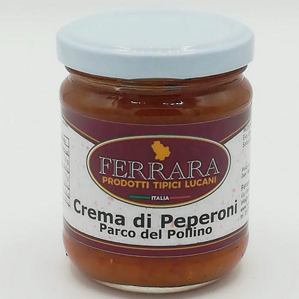 CREMA DI PEPERONI PARCO DEL POLLINO 180 GR