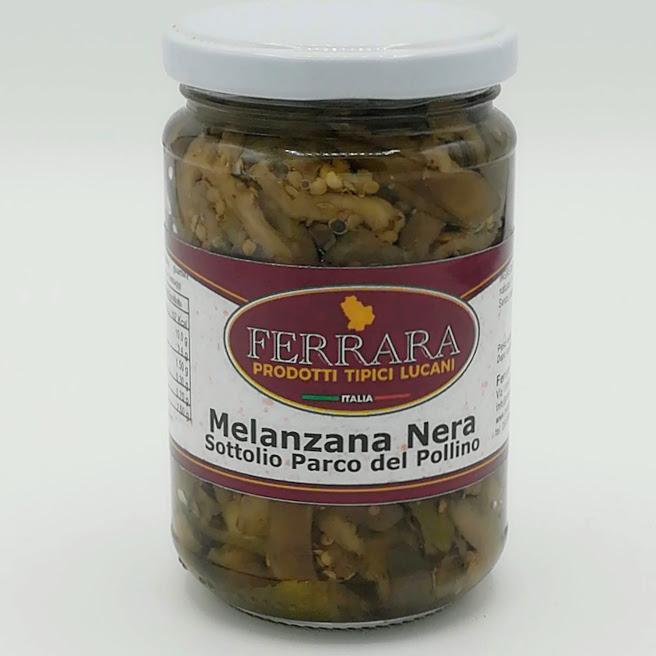 MELANZANA NERA SOTTOLIO PARCO DEL POLLINO 300 GR