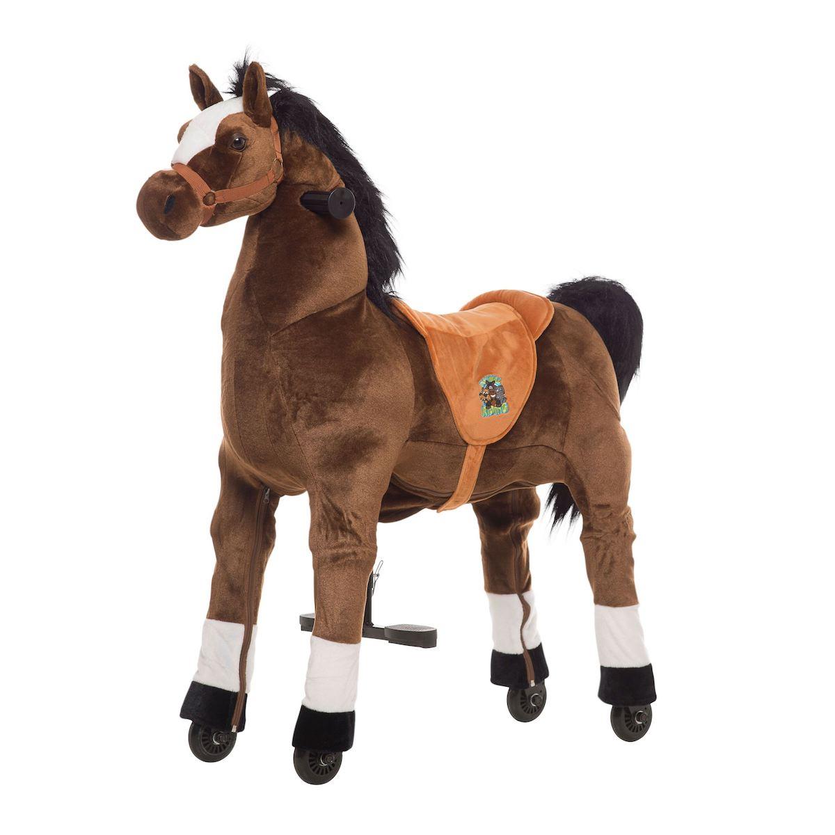 Cavallo Cavalcabile con ruote Fulmine