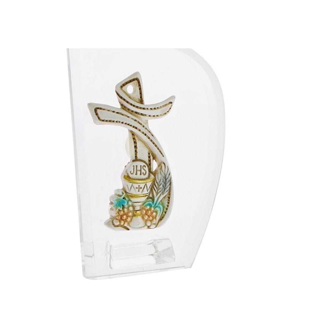 Icona vela con croce Prima Comunione