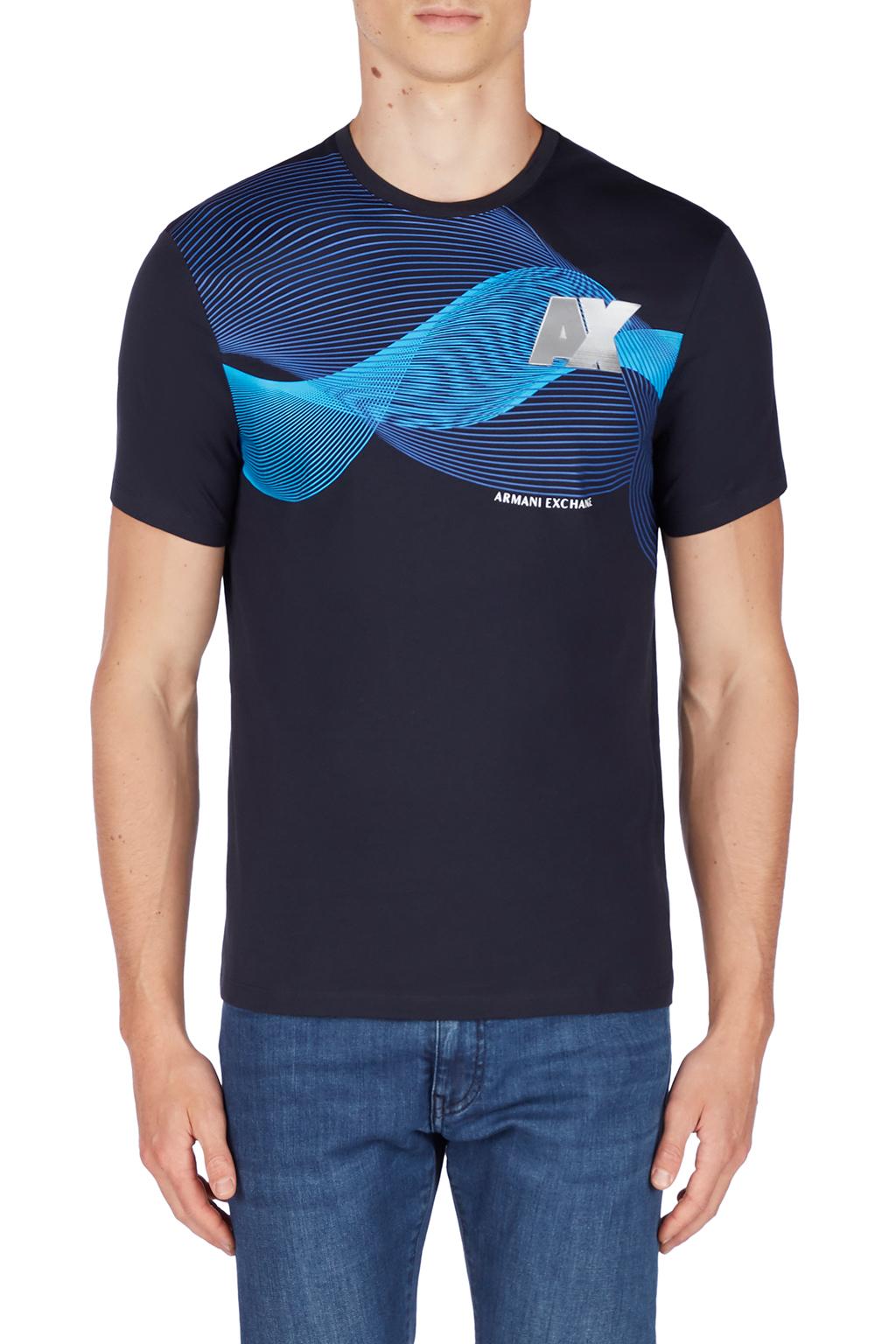 T-shirt uomo ARMANI EXCHANGE stampa