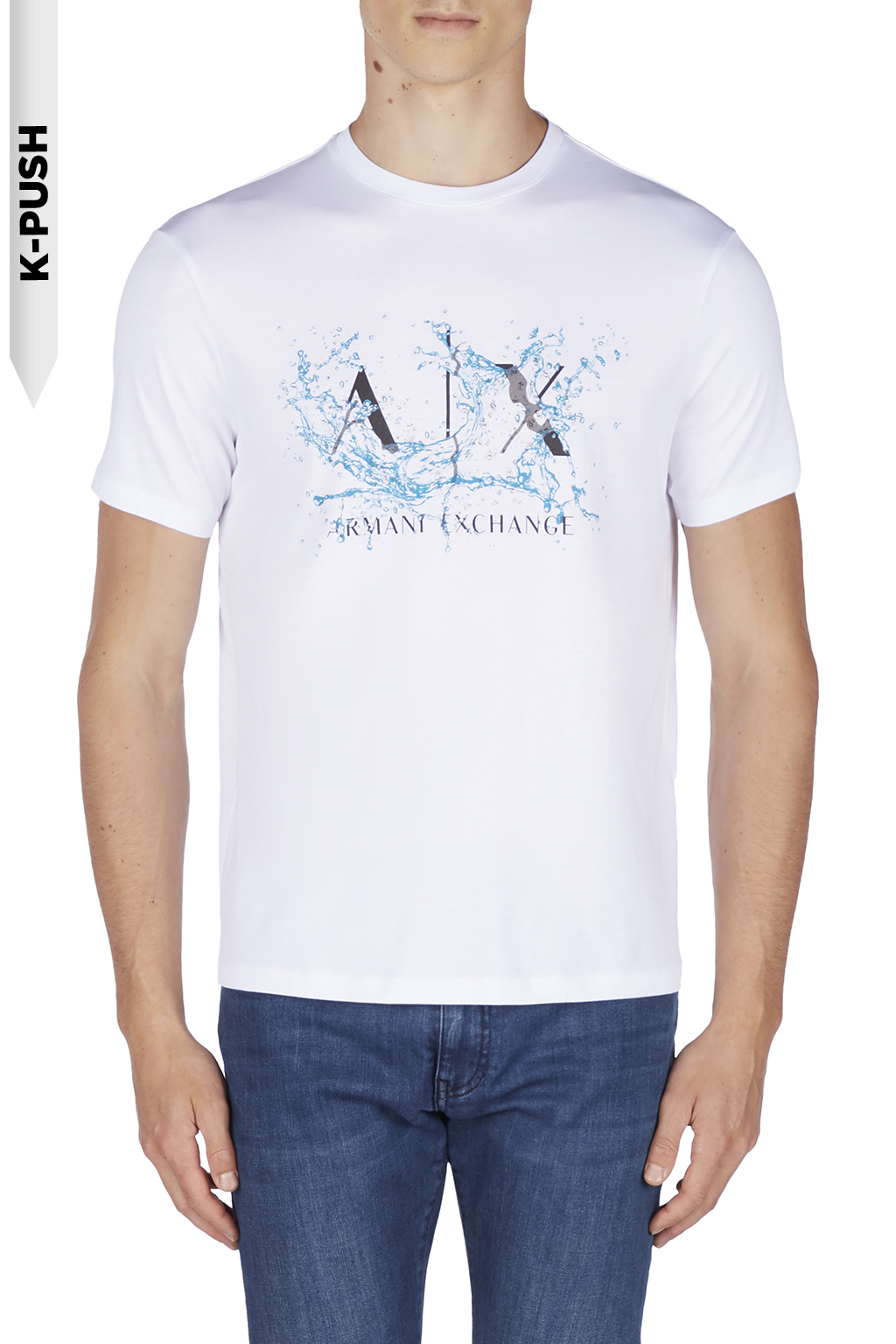 T-shirt uomo ARMANI EXCHANGE stampa