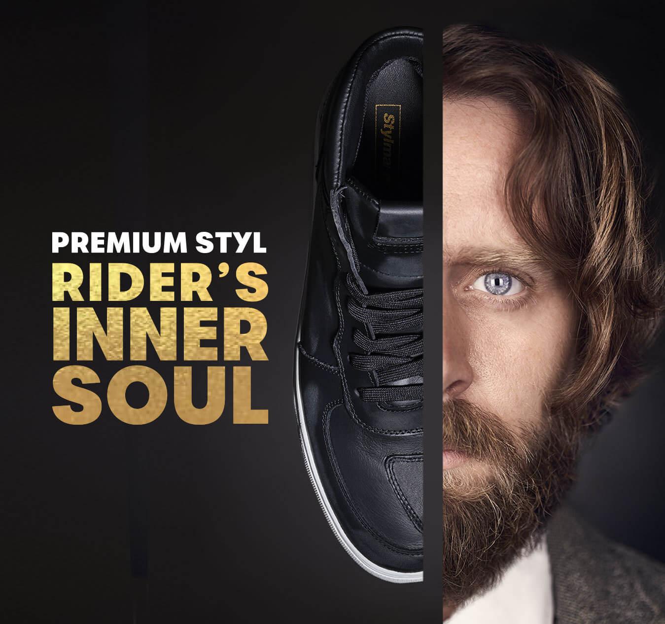 Sneakers impermeabili Venice LTD Premium Styl: Rider's Inner Soul. Stefano, quando la passione ti vibra dentro.