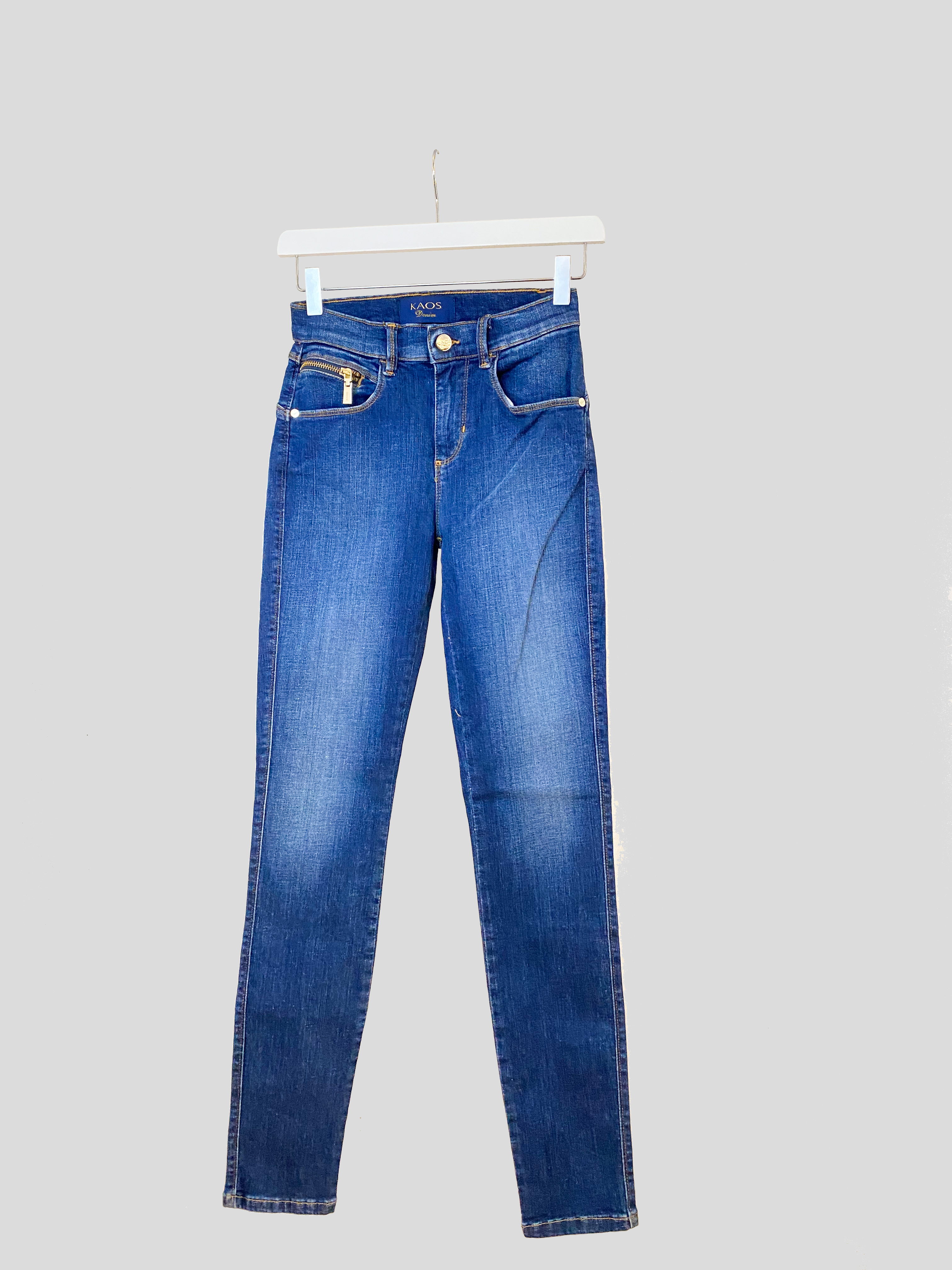 Skinny zip pocket | KAOS