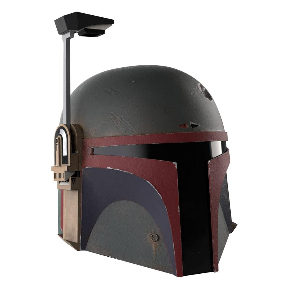 Star Wars Black Series Premium Electronic Helmet:​​​​​​​ Boba Fett (Re-Armored) The Mandalorian by Hasbro