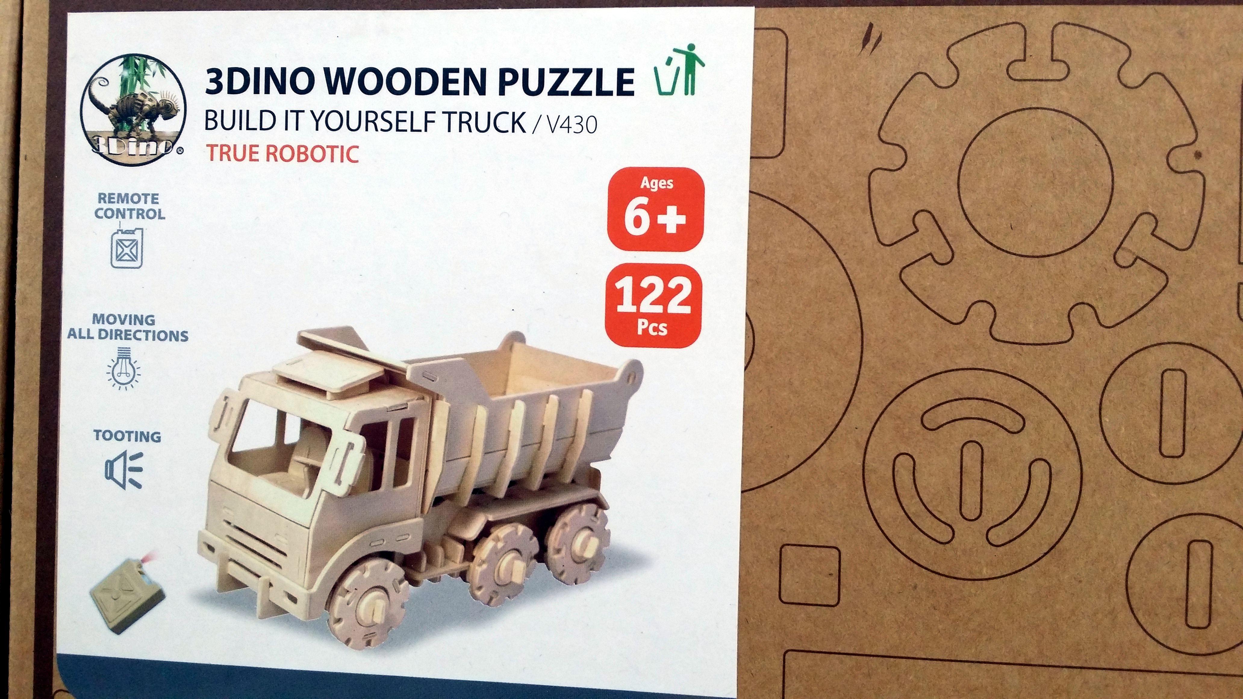 Puzzle 3D Camion radiocomandato