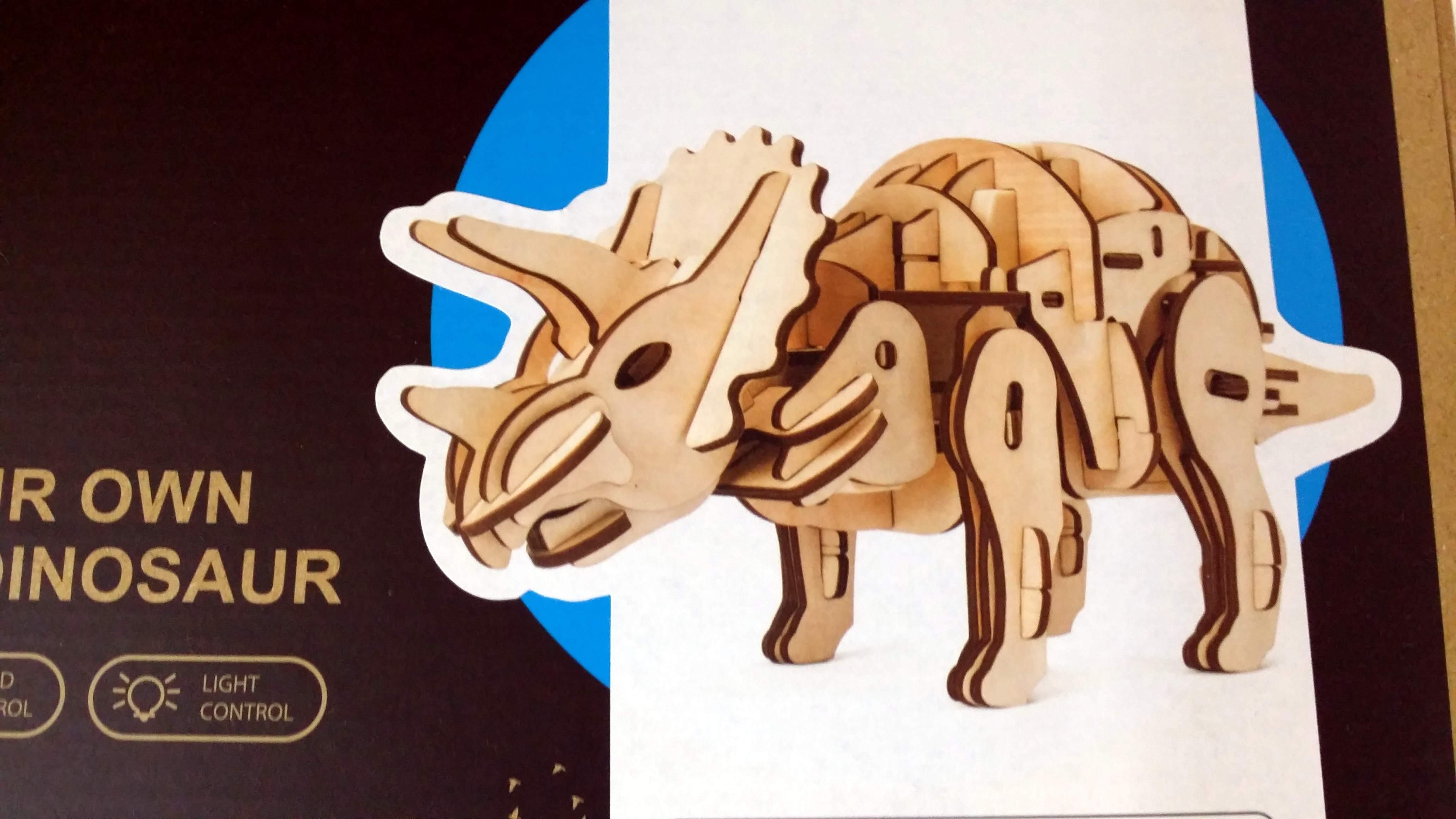 Puzzle 3D Triceratopo radiocomandato