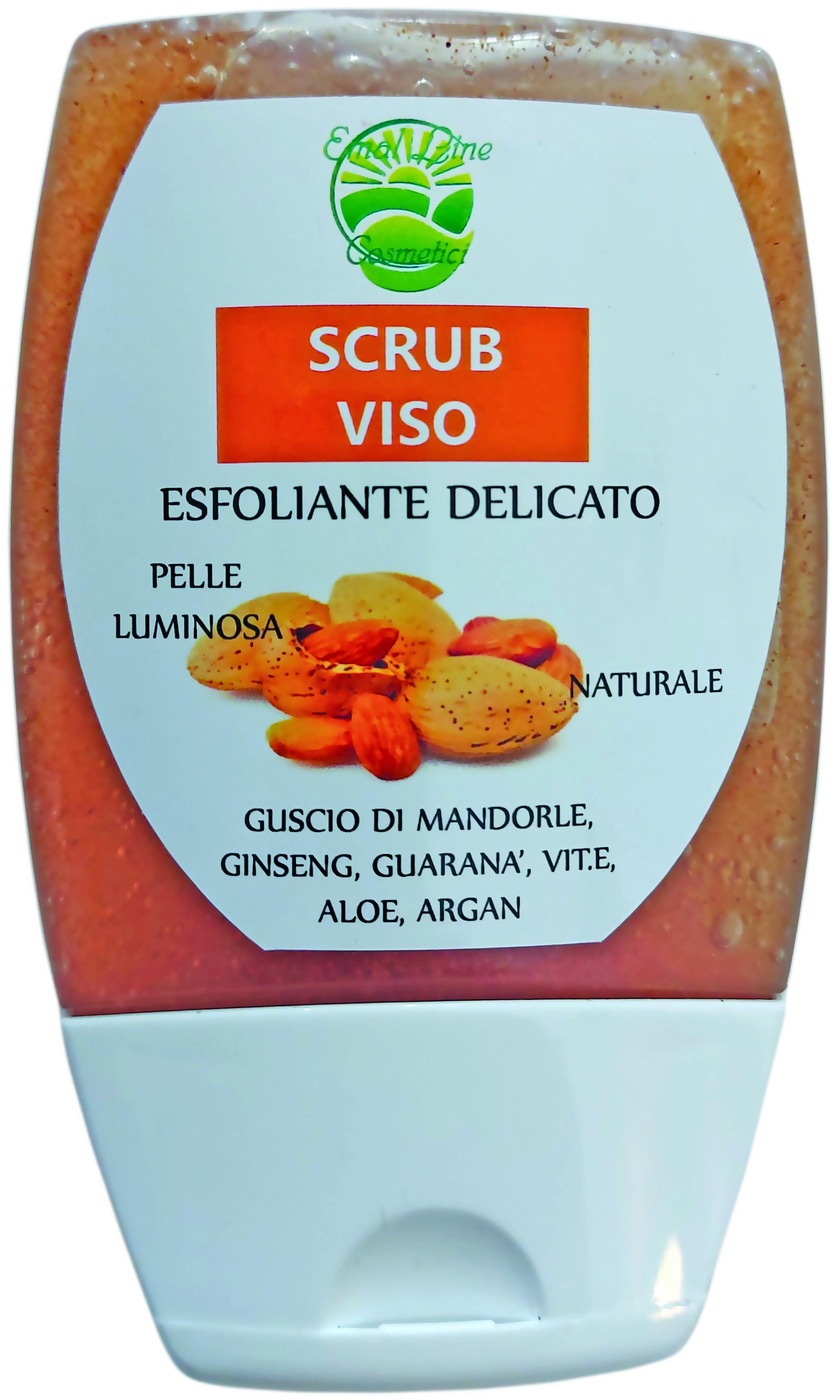 Scrub Viso gusci di Mandorla, Guaranà e Ginseng 100 ml