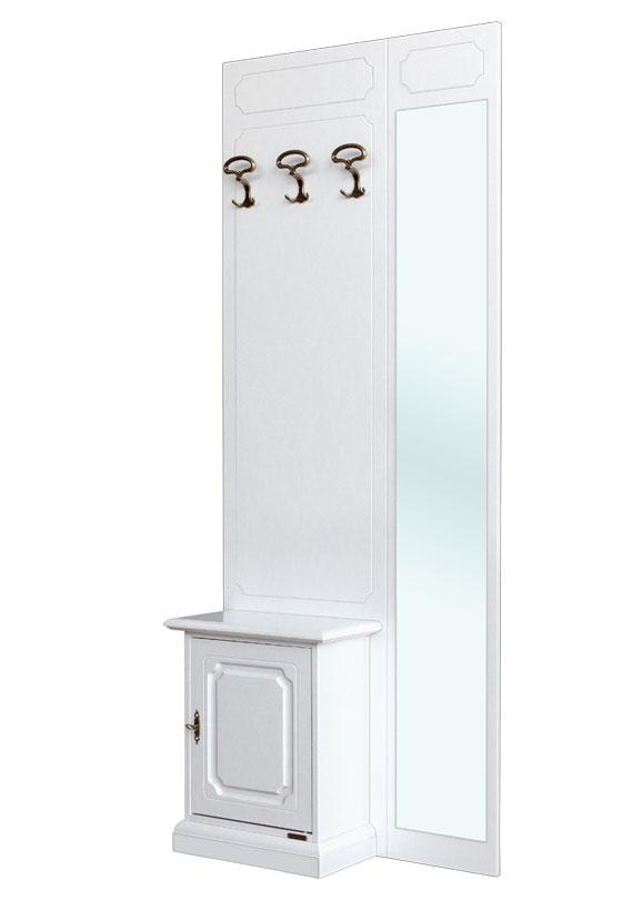 Entryway set with mirror