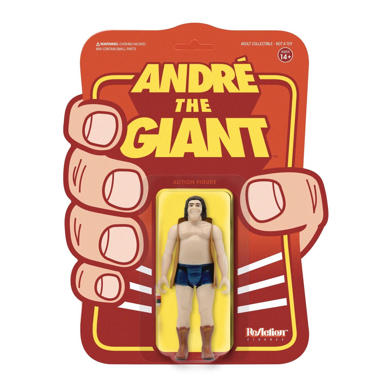 ReAction Figure: André the Giant - Vest  by Super 7