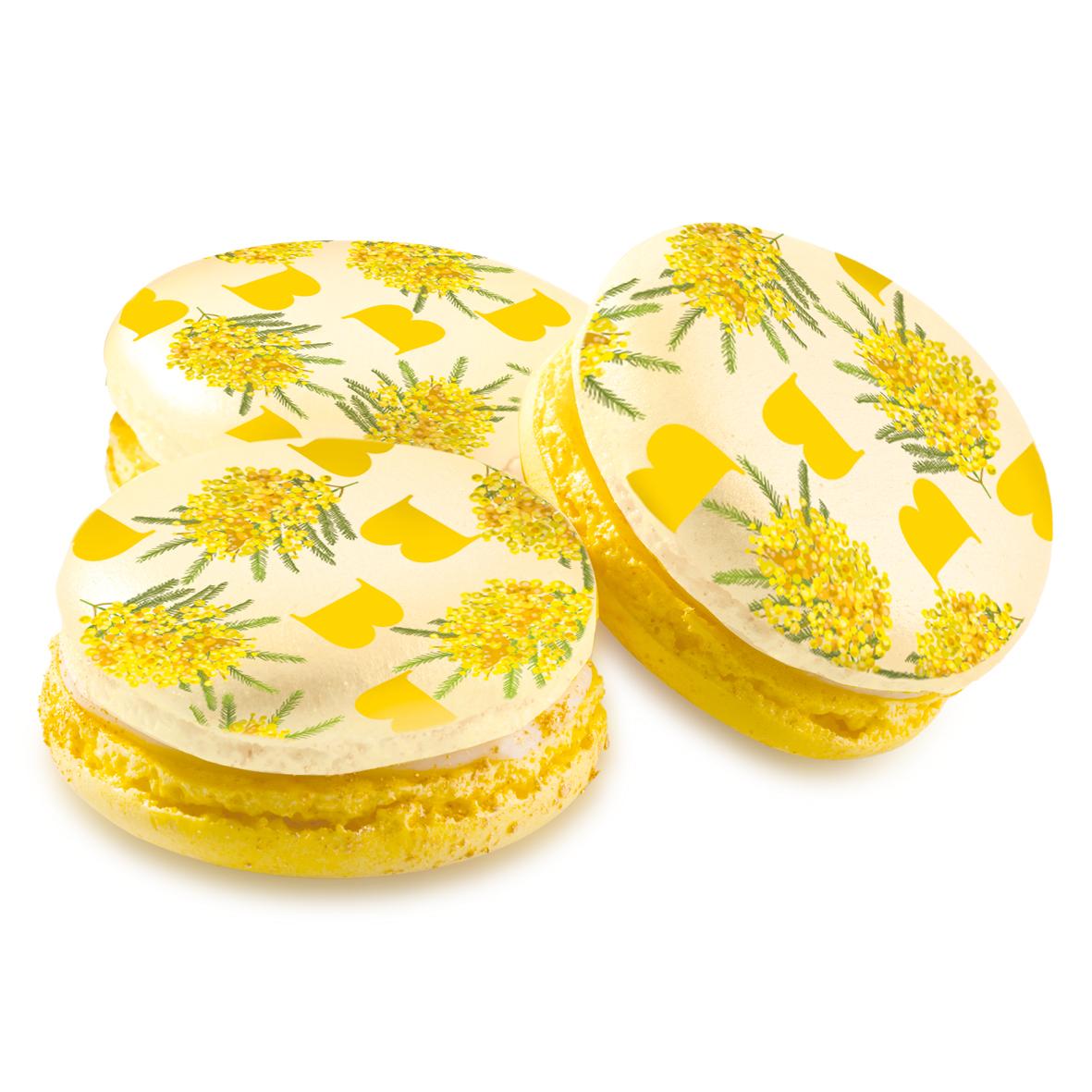 Macaron Mimosa 6pz