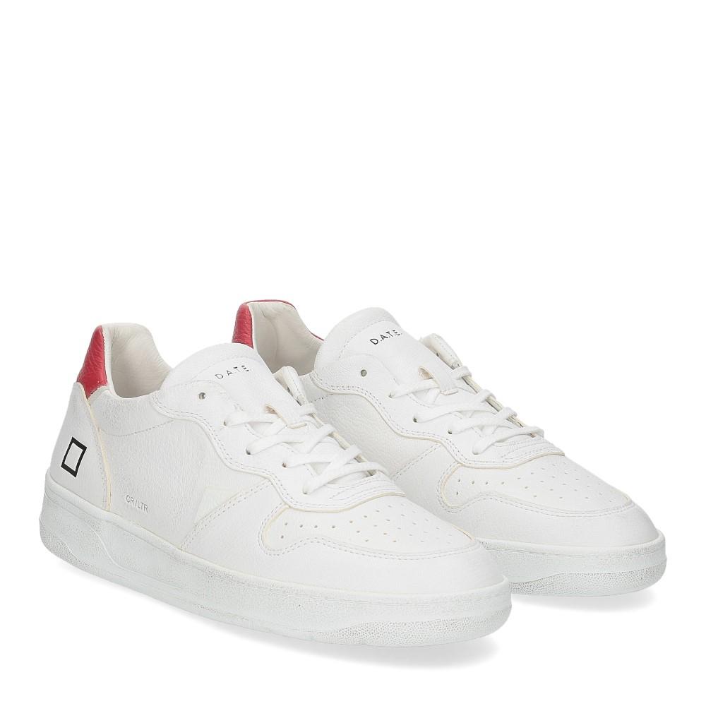 D.A.T.E. Court calf white red
