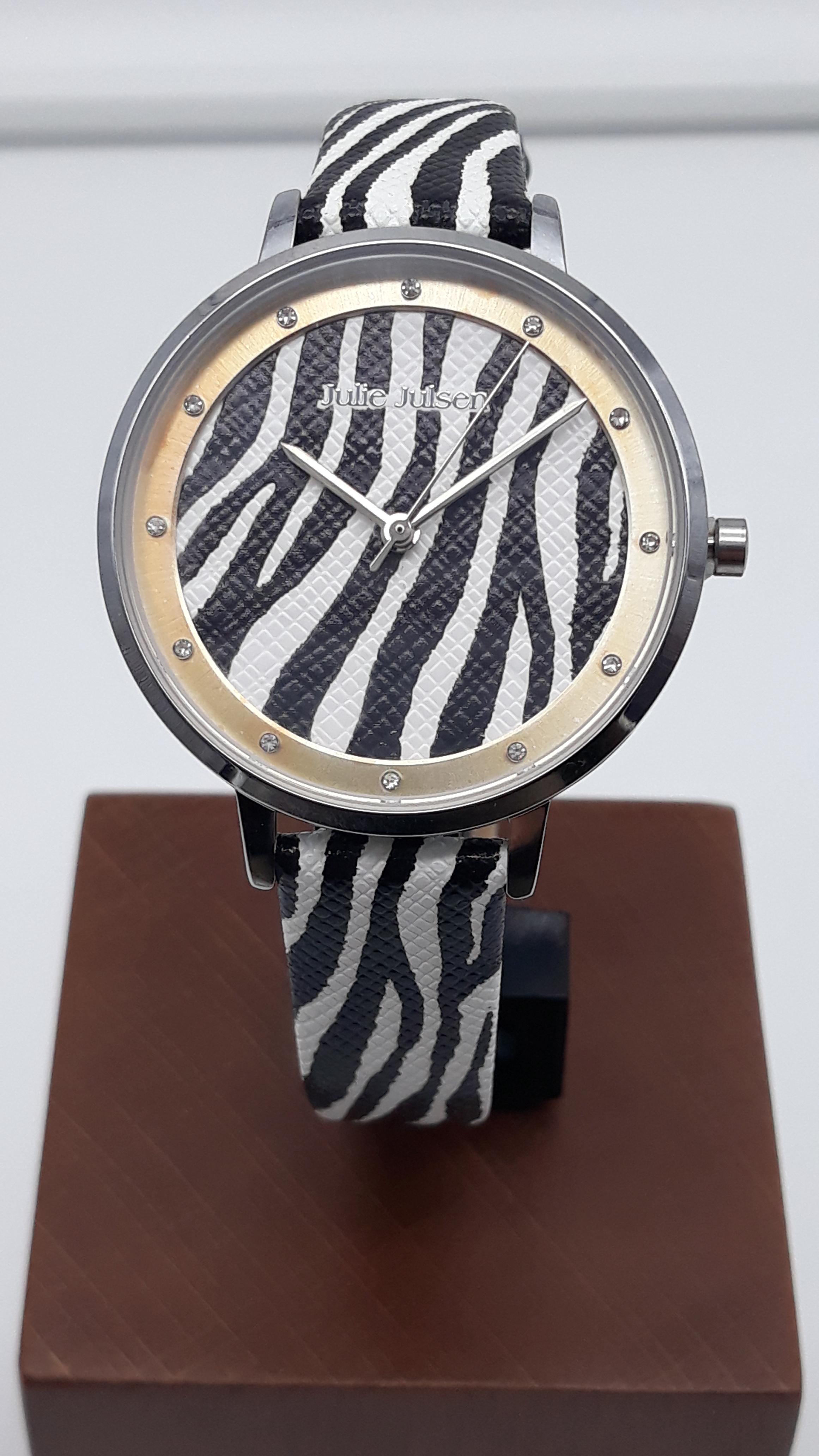 Orologio Donna Julie Julsen JJW1203SL-Z Safari Zebra, vendita on line | OREFICERIA BRUNI Imperia