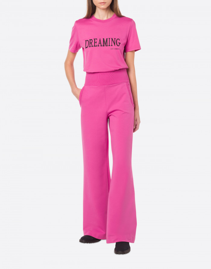 T-shirt dreaming fucsia alberta ferretti