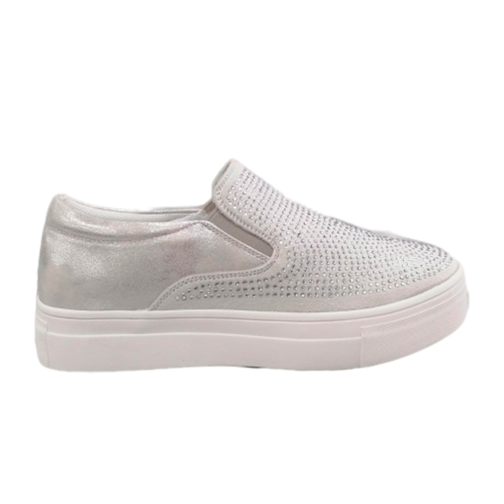 Sneakers Donna Energy 15 GRIGIO SAT  -10
