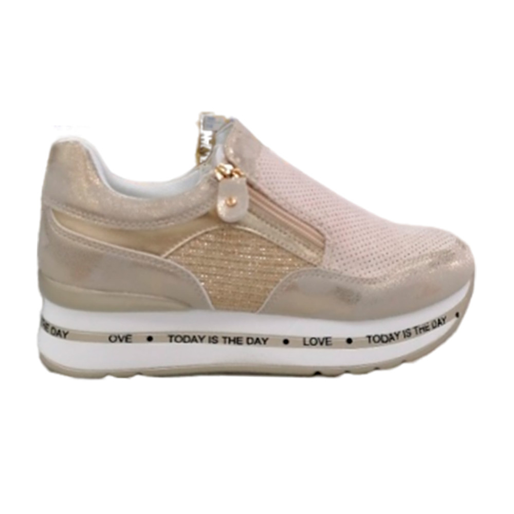 Sneakers Donna Energy 373 BEIGE  -10
