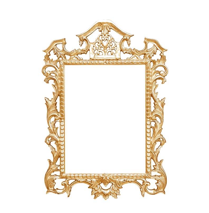 Miroir classique élégant