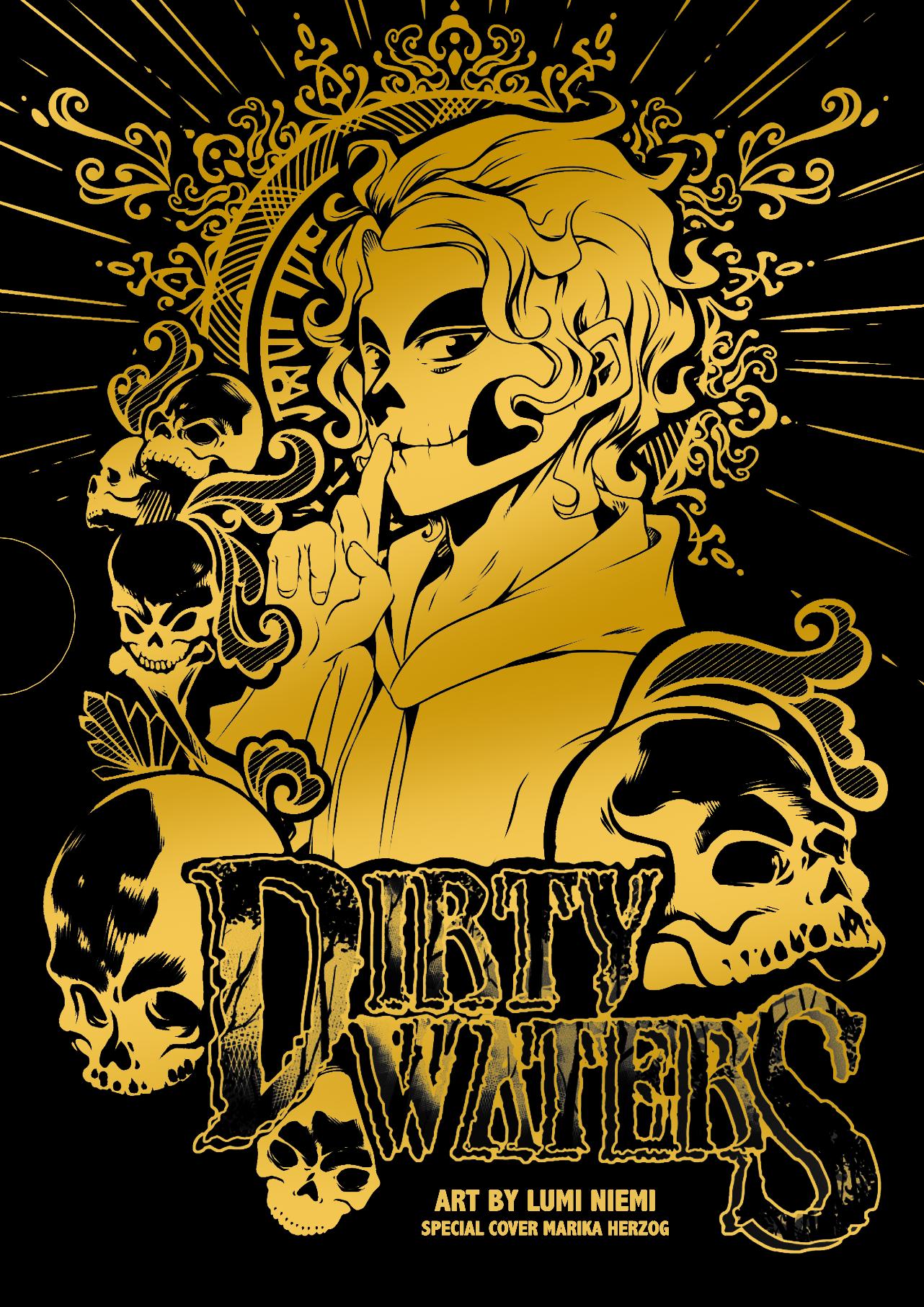 COPERTINA cofanetto Dirty Waters