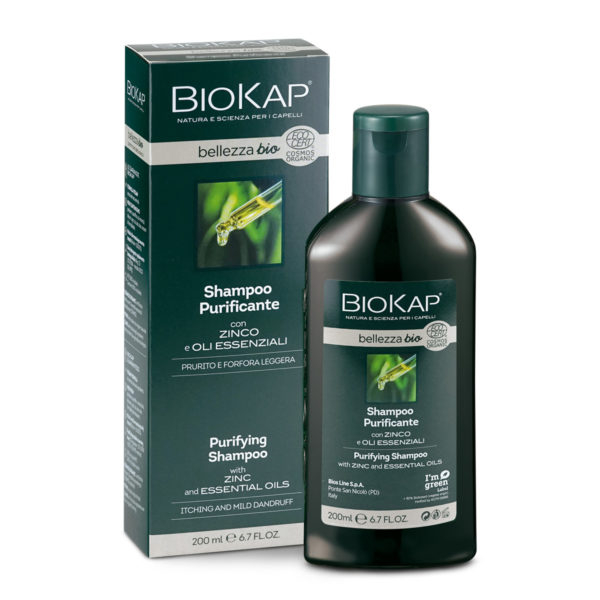 Shampoo Purificante Certificato Biologico