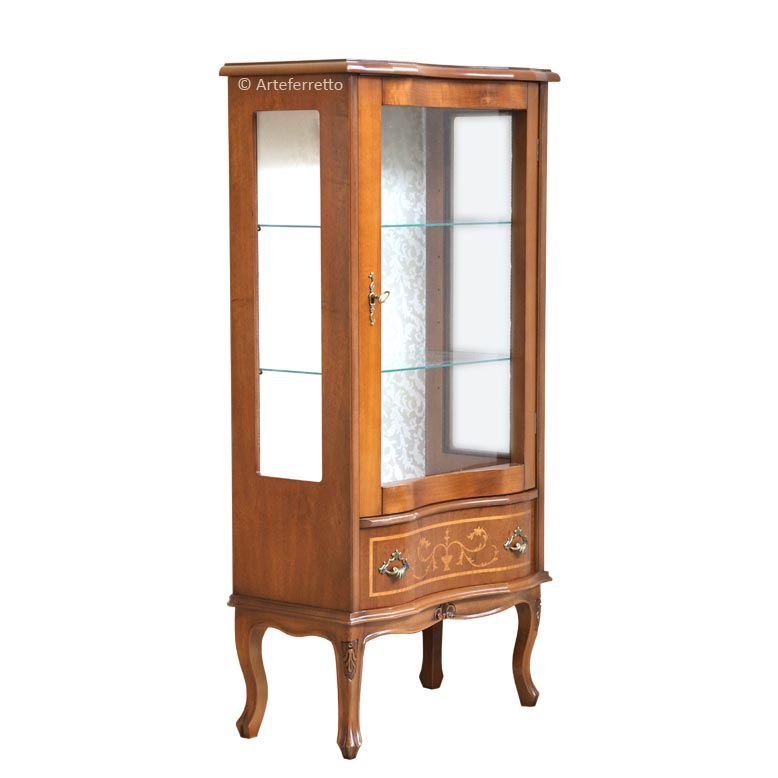 Inlaid display cabinet Classico Veneziano