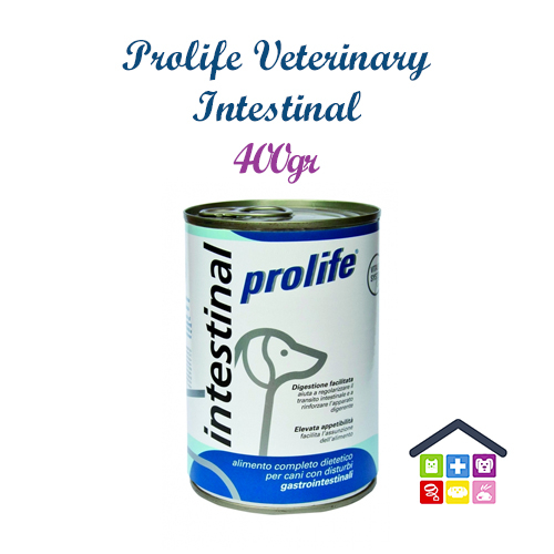 Prolife | Linea Veterinary Formula - Cane | Intestinal - Umido / 400gr