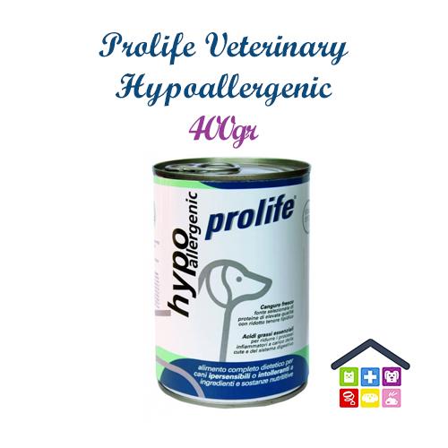 Prolife | Linea Veterinary Formula - Cane | Hypoallergenic - Umido / 400gr