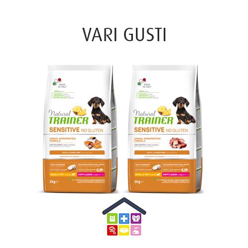 NATURAL TRAINER | Sensitive No Gluten | Mini Puppy & Junior (  / Anatra ) / 2kg