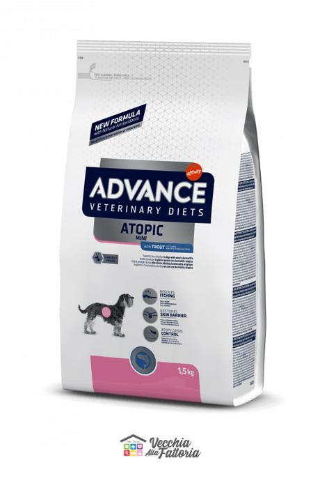 ADVANCE   DIET DOG   ATOPIC Mini TROUT / 1.5 kg