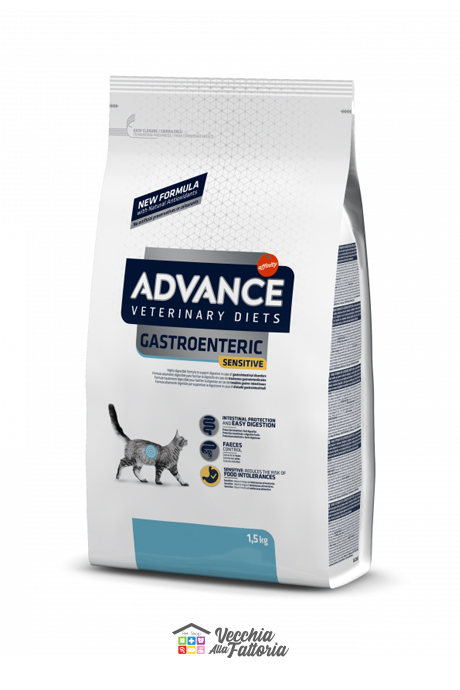 ADVANCE | DIET CAT | GASTROENTERIC SENSITIVE / 1.5 kg
