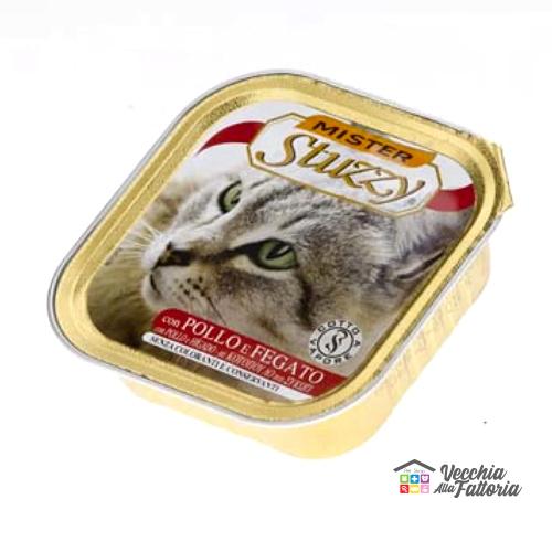 AGRAS STUZZY   MISTER   Patè gusto Pollo con Fegato / 100gr