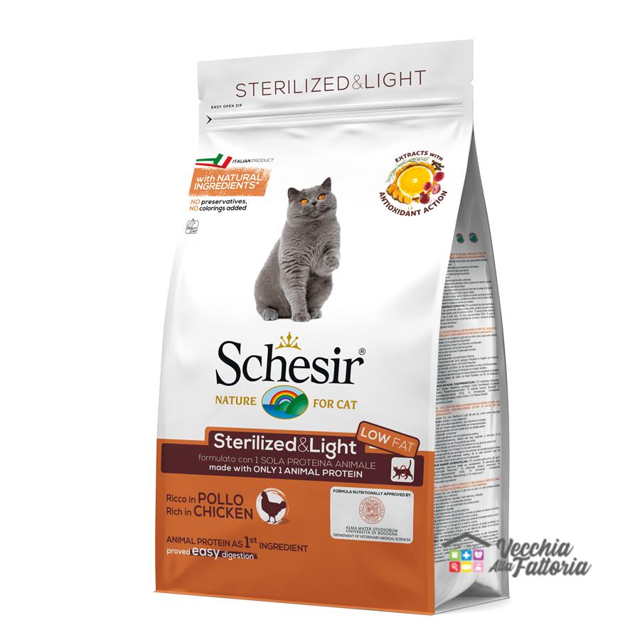 Schesir | Secco Gatto | Sterilized & light ricco al Pollo / 1.5Kg