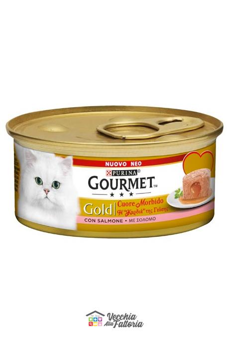 PURINA | GOURMET GOLD - Cuore Morbido / Gusto: SALMONE - 85gr