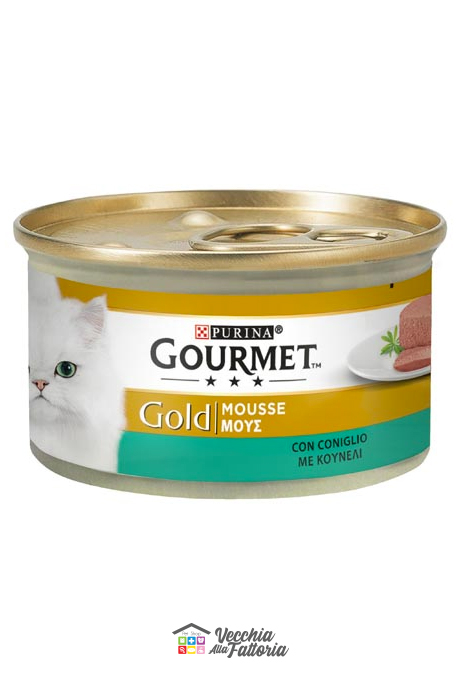 PURINA | GOURMET GOLD - Mousse / Gusto: Coniglio - 85gr