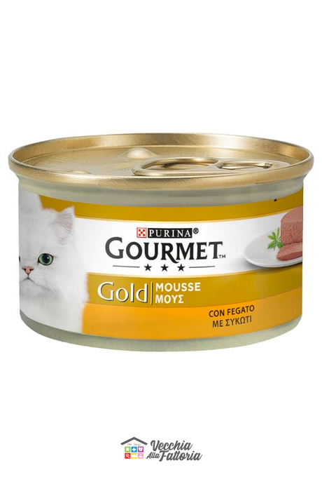 PURINA | GOURMET GOLD - Mousse / Gusto: Fegato - 85gr