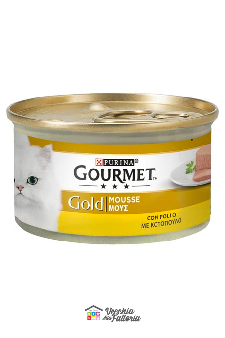 PURINA | GOURMET GOLD - Mousse / Gusto: Pollo - 85gr