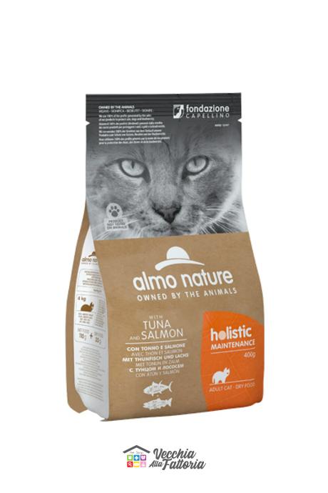 Almo Nature Gatto | Linea Holistic | Tonno e Salmone / 2 kg