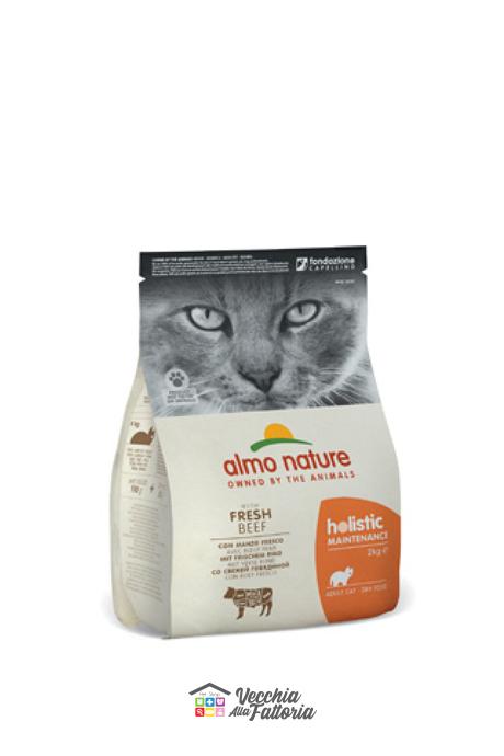 Almo Nature Gatto | Linea Holistic | Manzo / 2 kg