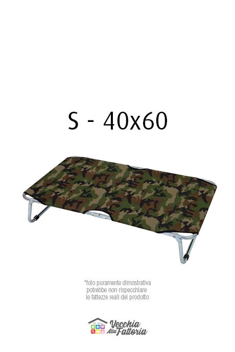 Leopet   BRANDINA FISSA MIMETICA VERDE - 40x60 cm S