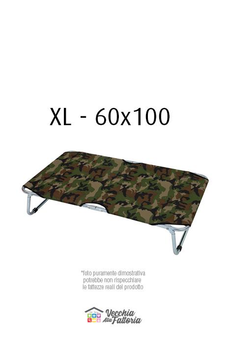 Leopet | BRANDINA FISSA MIMETICA VERDE - 60x100 cm XL