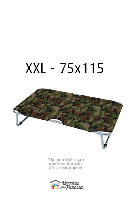 Leopet | BRANDINA FISSA MIMETICA VERDE - 75x115 cm XXL