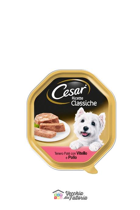 Cesar | Ricette Classiche - Gusto : Vitello e Pollo / 150 gr