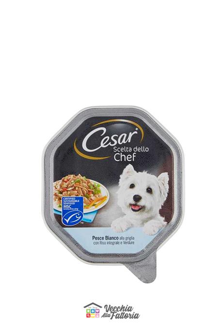 Cesar | Scelta dallo Chef - Pesce alla Griglia, Riso Integrale e Verdure / 150 gr