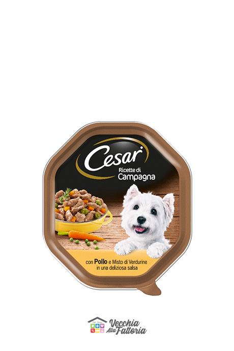 Cesar | Ricetta di Campagna - Pollo e Misto Verdurine / 150gr